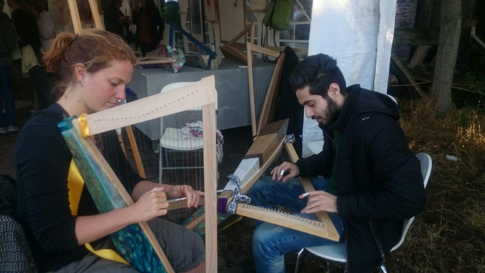 Harpe ou Qanûn?