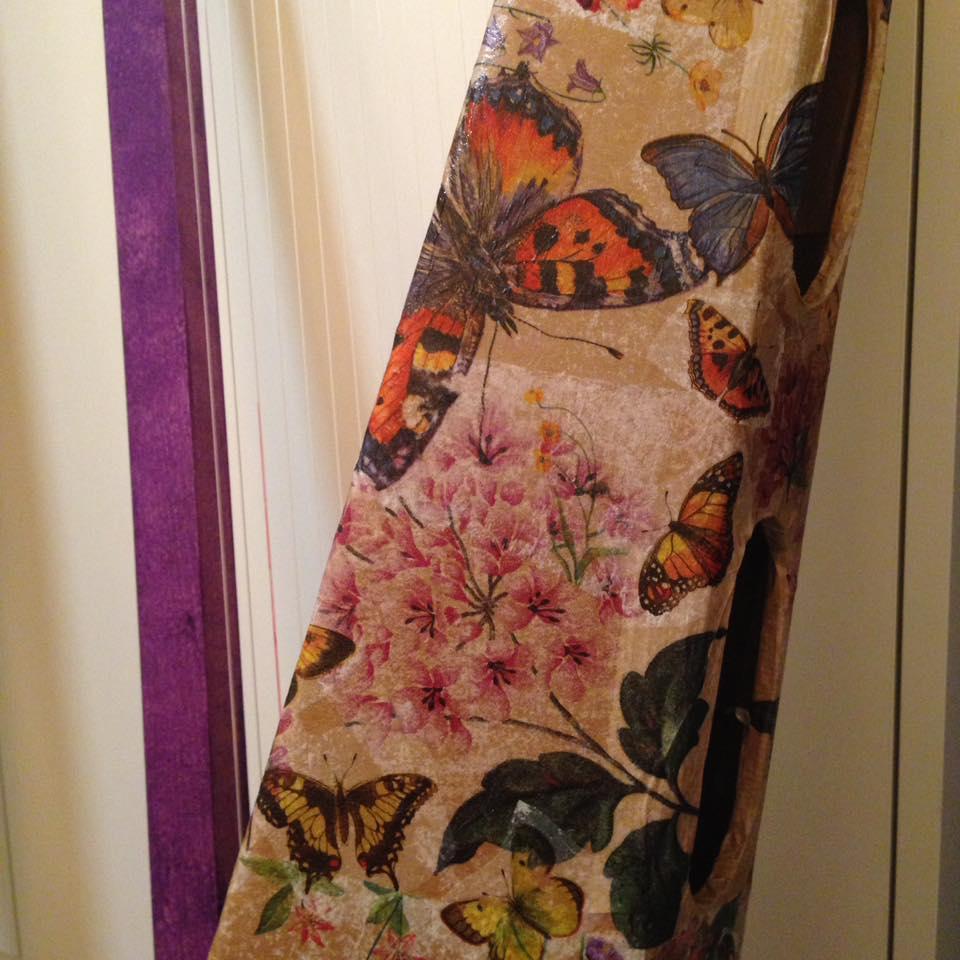 Papillons violets…