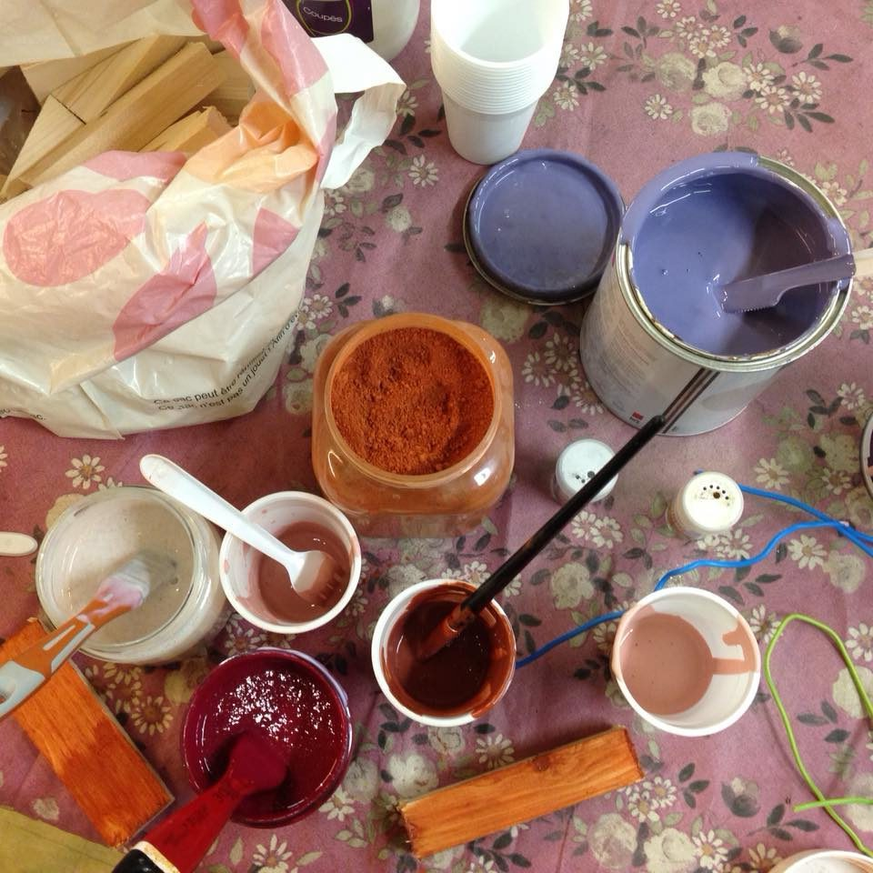 Pigments au Touvet